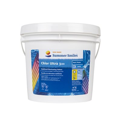 Pastille de chlore (Chlor Ultra 3'')