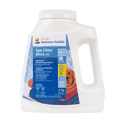 Pastilles de chlore (Chlor Ultra 1'')